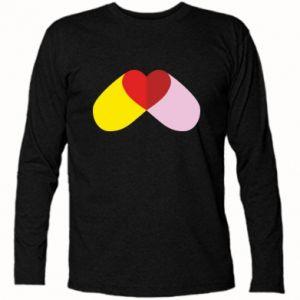 Koszulka z długim rękawem Pigułka serca