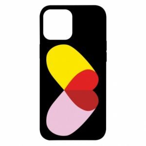 iPhone 12 Pro Max Case Heart pill