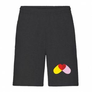 Men's shorts Heart pill