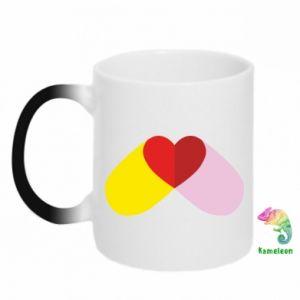 Magic mugs Heart pill