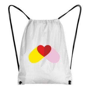 Backpack-bag Heart pill