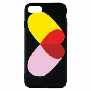 iPhone 7 Case Heart pill