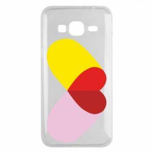 Samsung J3 2016 Case Heart pill