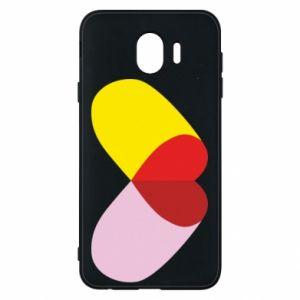 Samsung J4 Case Heart pill
