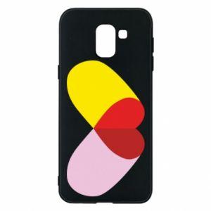 Samsung J6 Case Heart pill