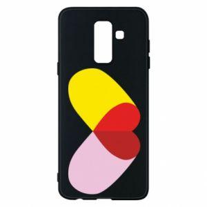 Samsung A6+ 2018 Case Heart pill