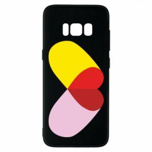 Samsung S8 Case Heart pill