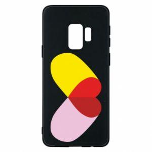 Samsung S9 Case Heart pill
