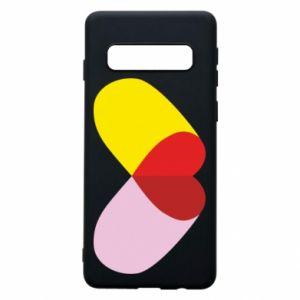 Samsung S10 Case Heart pill