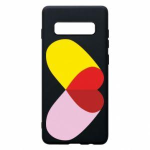 Samsung S10+ Case Heart pill