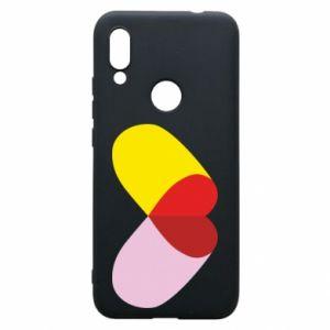 Xiaomi Redmi 7 Case Heart pill