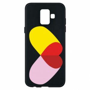 Samsung A6 2018 Case Heart pill