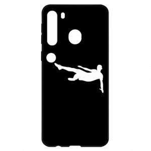Samsung A21 Case Football