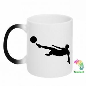 Chameleon mugs Football