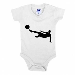 Baby bodysuit Football