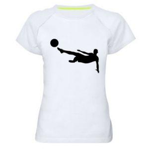 Women's sports t-shirt Football