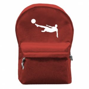 Backpack with front pocket Football