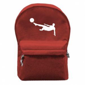 Plecak z przednią kieszenią Piłka nożna