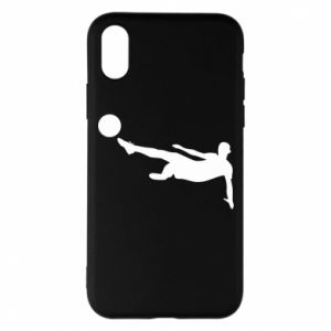 Phone case for iPhone X/Xs Football