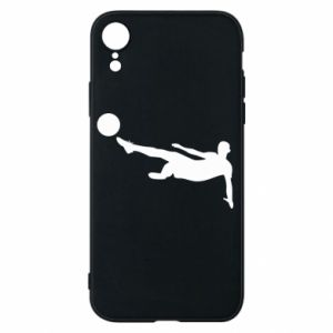 Phone case for iPhone XR Football