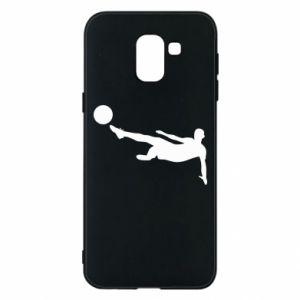 Phone case for Samsung J6 Football