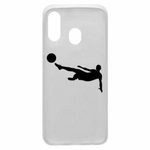 Phone case for Samsung A40 Football
