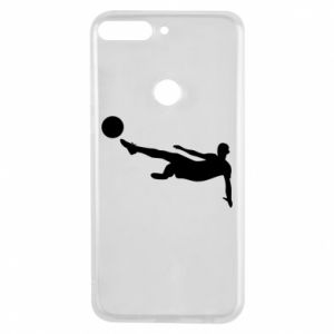 Phone case for Huawei Y7 Prime 2018 Football
