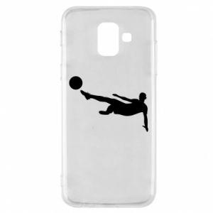 Phone case for Samsung A6 2018 Football