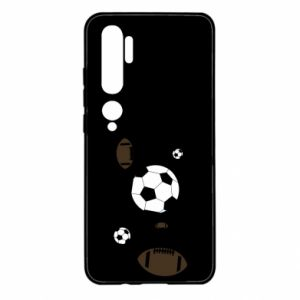 Etui na Xiaomi Mi Note 10 Piłki do gier