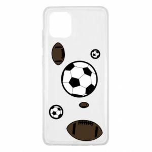 Etui na Samsung Note 10 Lite Piłki do gier