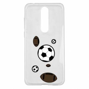 Etui na Nokia 5.1 Plus Piłki do gier