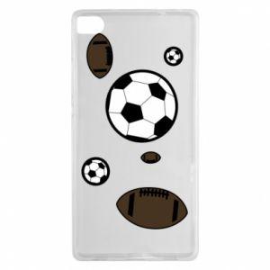 Etui na Huawei P8 Piłki do gier