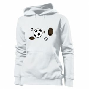 Women's hoodies Balls for games