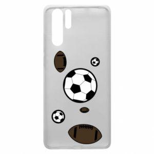 Etui na Huawei P30 Pro Piłki do gier