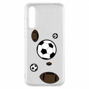 Etui na Huawei P20 Pro Piłki do gier