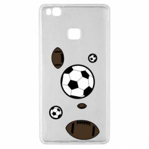 Etui na Huawei P9 Lite Piłki do gier