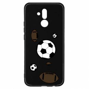 Etui na Huawei Mate 20 Lite Piłki do gier