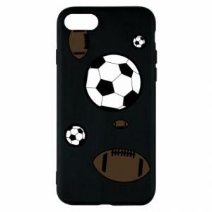 Etui na iPhone SE 2020 Piłki do gier