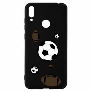 Huawei Y7 2019 Case Balls for games
