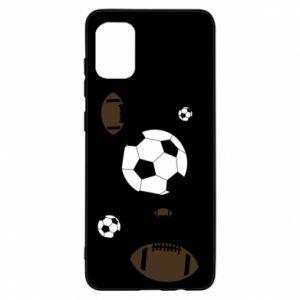 Samsung A31 Case Balls for games
