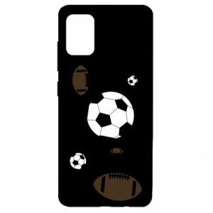 Samsung A51 Case Balls for games