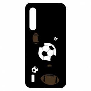 Xiaomi Mi9 Lite Case Balls for games