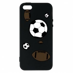 Phone case for iPhone 5/5S/SE Balls for games