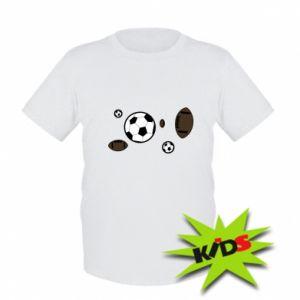 Kids T-shirt Balls for games