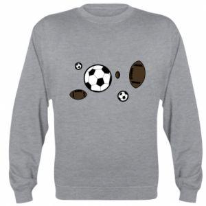Sweatshirt Balls for games