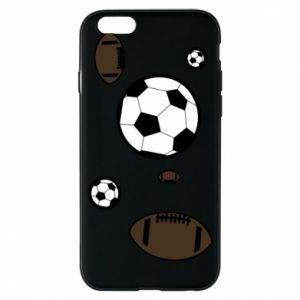 Phone case for iPhone 6/6S Balls for games