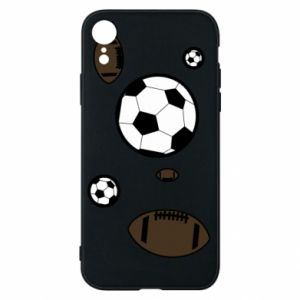 Phone case for iPhone XR Balls for games