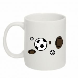 Mug 330ml Balls for games
