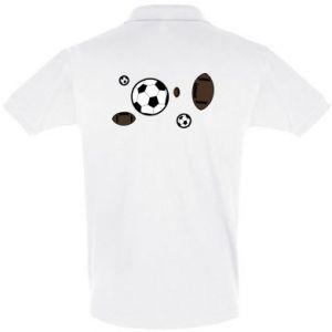 Men's Polo shirt Balls for games