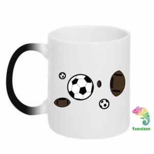 Chameleon mugs Balls for games